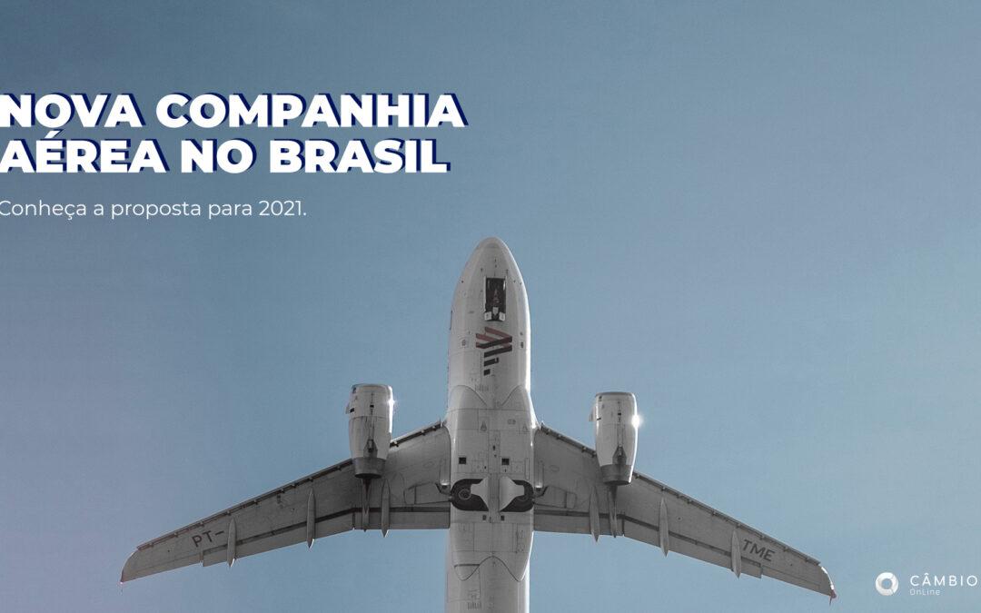 Brasil deve ganhar nova companhia aérea em 2021